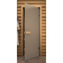 """Дверь банная """"Термостекло Сатин"""""""