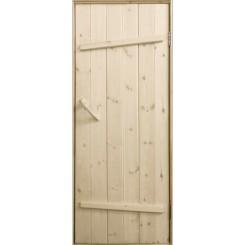 Дверь банная «Ласточкин хвост»