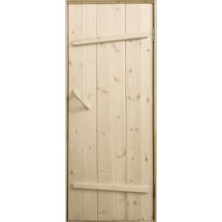 Дверь банная «Ласточкин хвост» Липа
