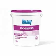 КНАУФ Изогрунд (15кг) грунтовка для декоративных штукатурок внутр/наруж.