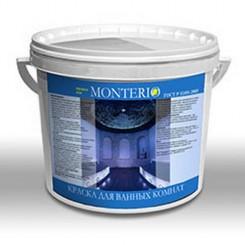 МОНТЕРИО Краска для ванных комнат КИ-4 БАЗА А 10л 14(кг)