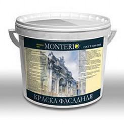 МОНТЕРИО Краска фасадная КФ-1  БАЗА С 10л (14кг)