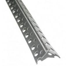 Профиль 20*20 угловой оцинк. перфорированный, 3м
