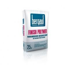 Bergauf Finish Polymer белая полимерная шпаклевка для тонкослойного выравнивания стен и потолков, 25