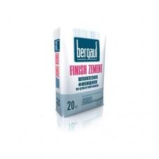 Bergauf Finish Zement шпаклевка белая цементная, 20 кг