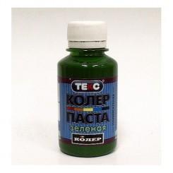ТЕКС Паста колеровочная универсальная зеленая (0,1л)