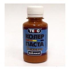 ТЕКС Паста колеровочная универсальная коричневая (0,1л)