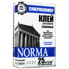 Клей для кафеля «Суперполимер» Высокая адгезия, 25кг