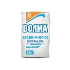 ВОЛМА Сухая смесь цементно клеевая Волма-Керамик плюс (25кг) влагостойкая
