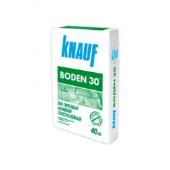 КНАУФ Боден-30 стяжка на гипсовой основе (40кг)