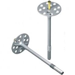 Дюбель IZM 10х160 для термоизоляции (стальной гвоздь) 500 шт.