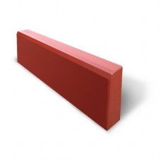 Бордюр маленький  35*210*500мм  красный 7 кг