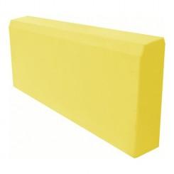 Бордюр садовый 70*210*500мм  желтый 15 кг