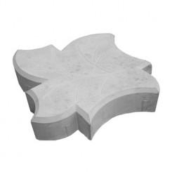 Кленовый лист 200*45мм серый (44 в кв.м)