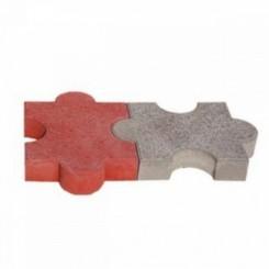 Мозаика 250*250*45мм красный (16 в кв.м)