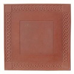 Восток (орнамент) 500*500*55  красный (4 в кв.м)